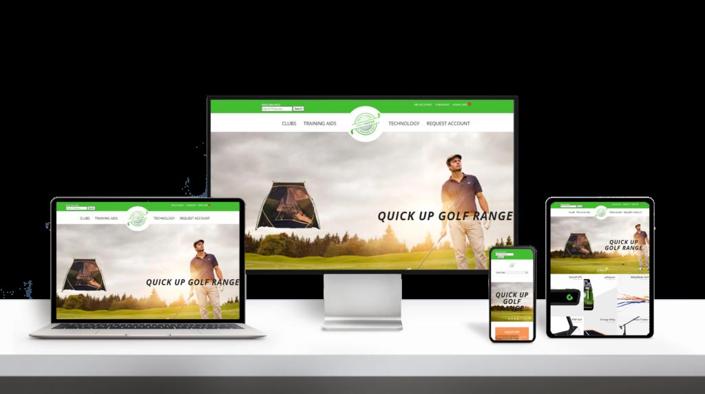 GolfVerified website responsive design