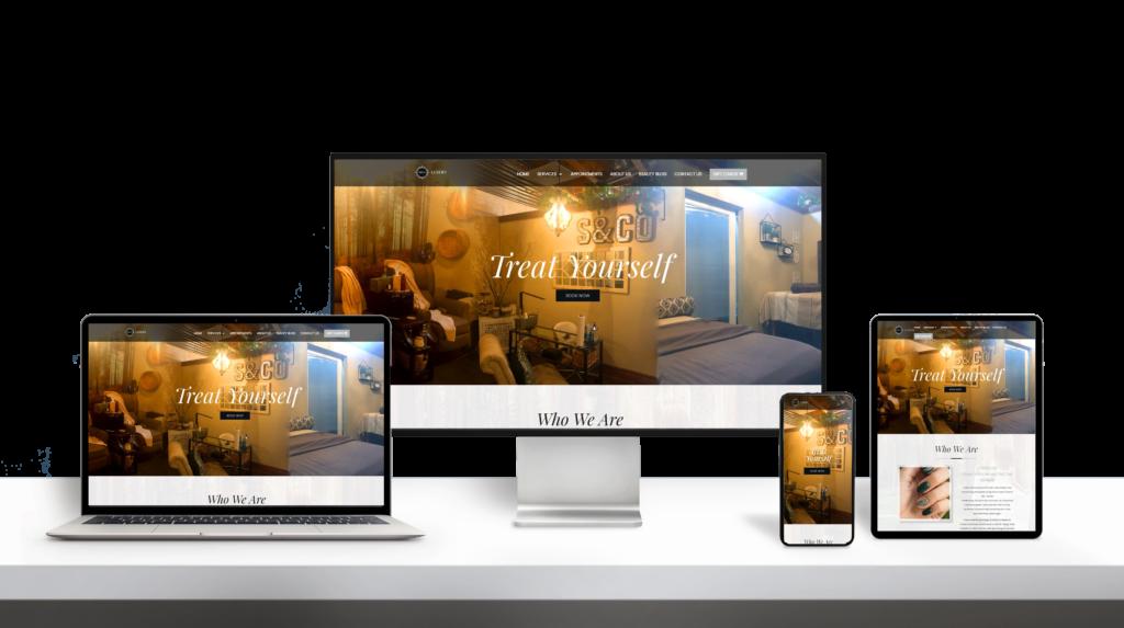 SCO website responsive design